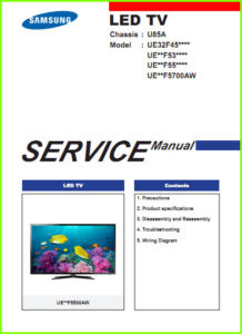Samsung UE32F4500 Service Manual